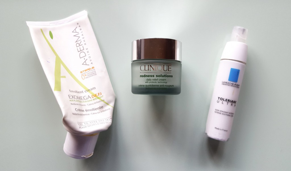 Moisturizers for dry sensitive skin