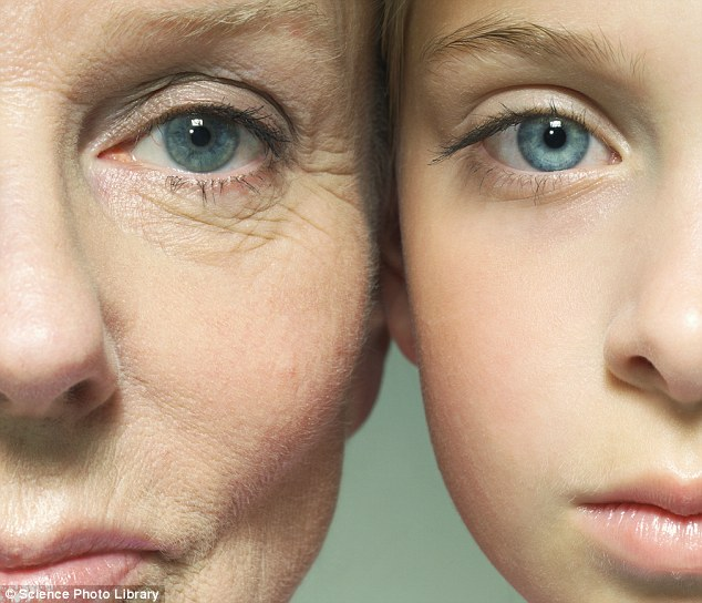 Young individuals have more sensitive skin than elderly