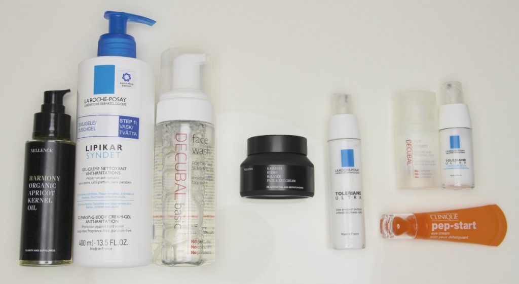 My favourite skincare products for my sensitive skin