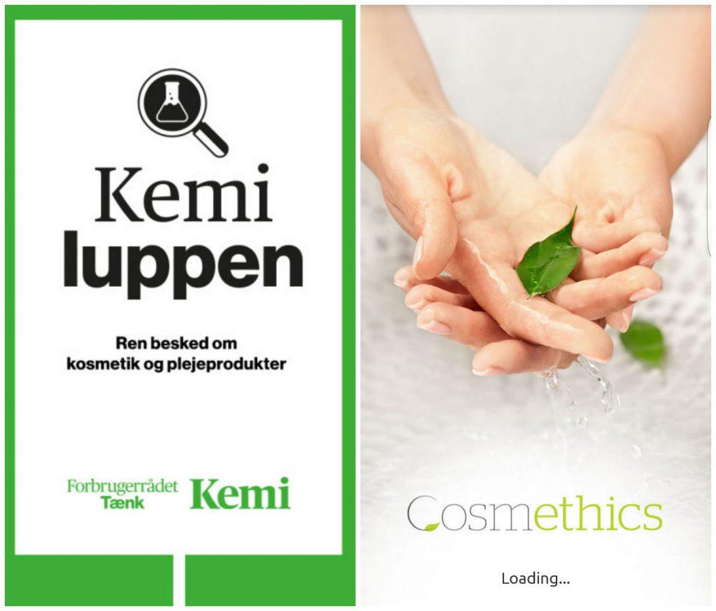 Kemiluppen App and Cosmethics App