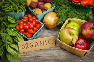 Eat organic foods to avoid pesticides
